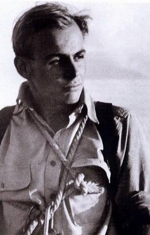 Kurt in den frühen 1950er-Jahren am Salzburger Untersberg.