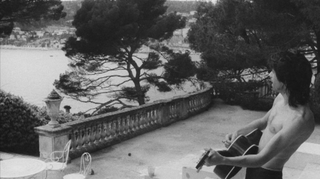 Lord of the Manor: Keith Richards on his back porch, overlooking the harbour of Villefranche. © Dominique Tarlé