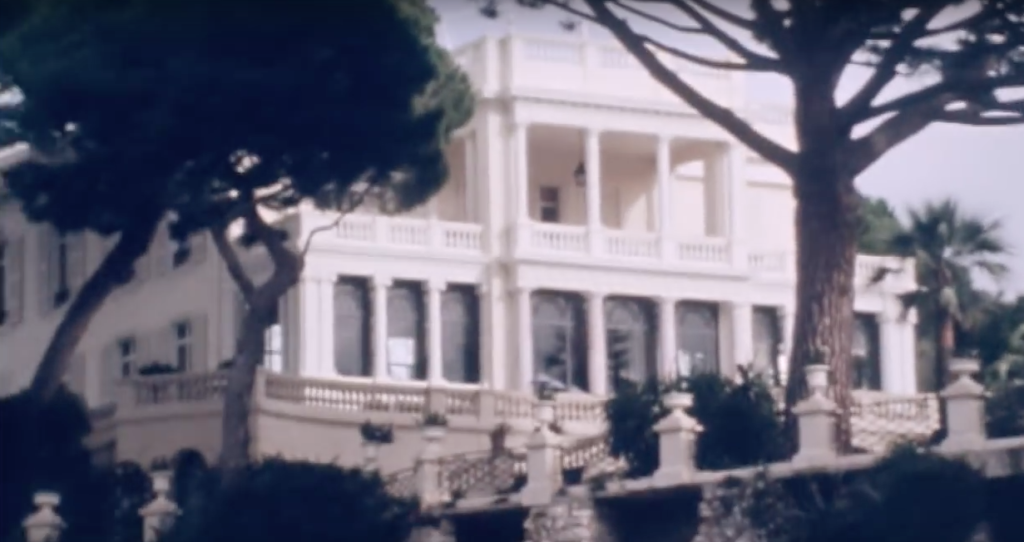 Villa Nellcôte, an Edwardian mansion in Villefranche, built by an admiral in the 1890s, now owned by anonymous Russians. In 1971, the Rolling Stones lived and recorded here.