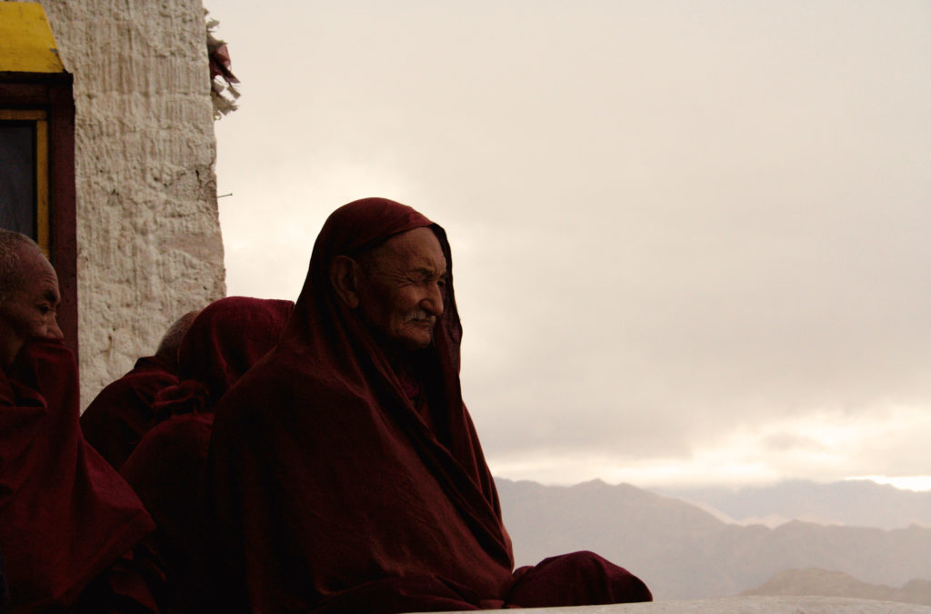 Innerlich still und ruhig werden wie die Berge.