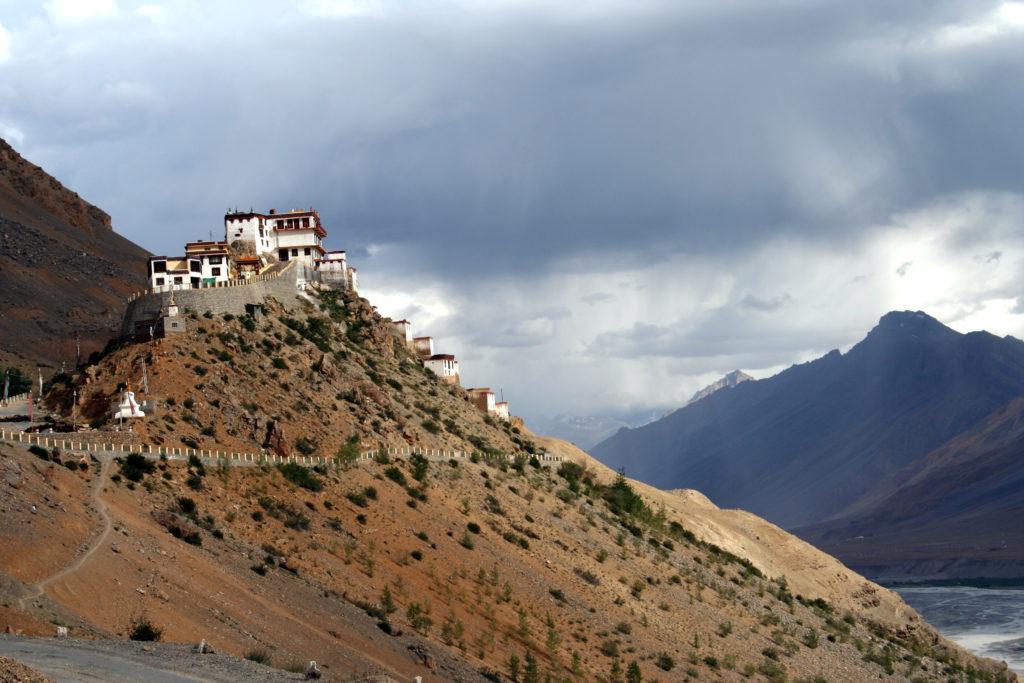 Das Kloster Kye Gompa, fünf Kilometer nordwestlich von Kaza. Hier konnten wir uns nützlich machen.