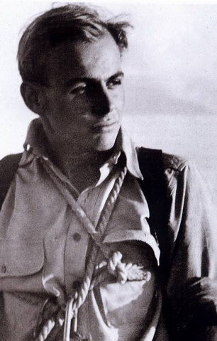 Kurt in the early 1950ies on Salzburg's Untersberg