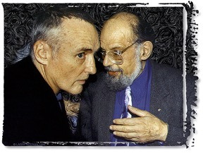Hopper mit Beat-Dichter Allen Ginsberg.