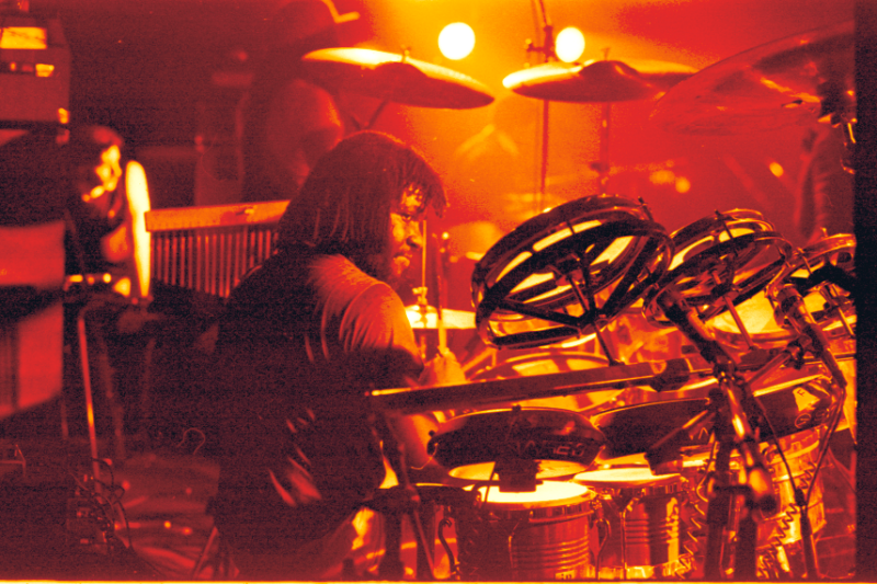 Sly at a session in 1979.