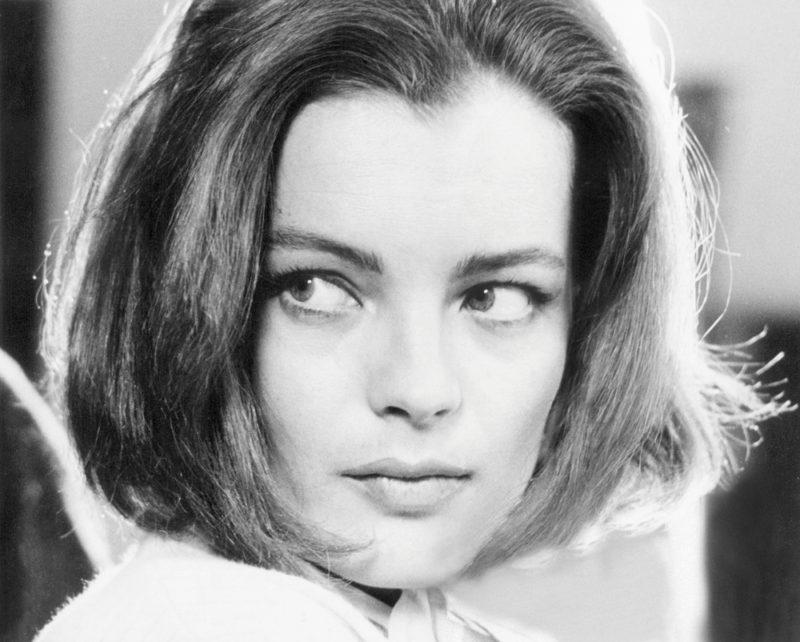 Romy, wenige Monate später in Schornstein Nr. 4 (La Voleuse; Regie: Jean Chapot), ihrem ersten Film an der Seite von Michel Piccoli. ©Jürgen Vollmer